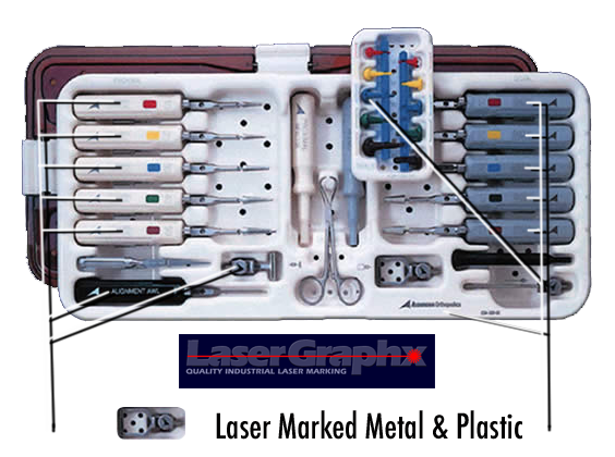Service for Laser Marked Metal And Plastic